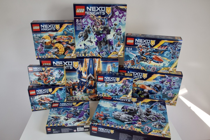 LEGO Nexo Knights - Huge Haul