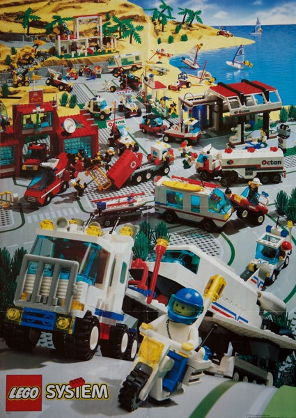1992 - LEGO Town Poster