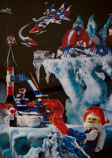 1993 - LEGO Ice Planet Poster
